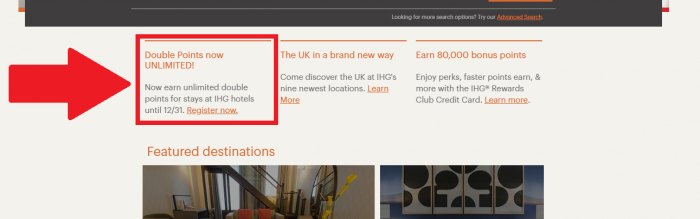 IHG Rewards Club Double Points Now Unlimited