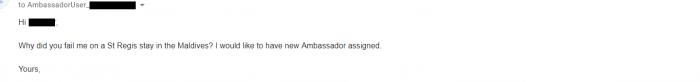 Marriott Email Inbox Follow