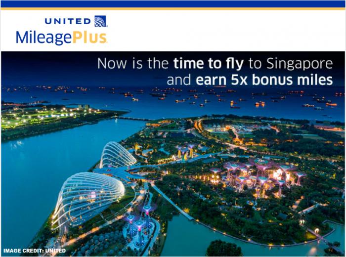 United Airlines MileagePlus Singapore Bonus Miles Offer U