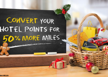 Cathay Pacific Asia Miles Hotel Points Conversion Bonus December 2018