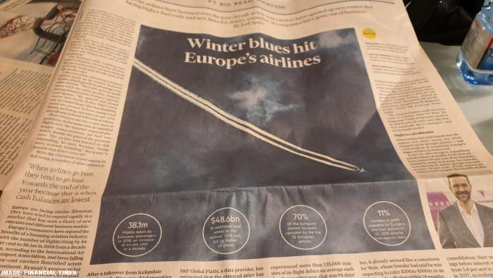 Financial Times Winter Blues