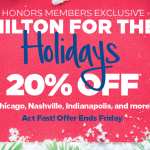 Hilton Honors Holiday Sale