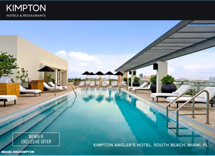 IHG Rewards Club Kimpton Florida Offer