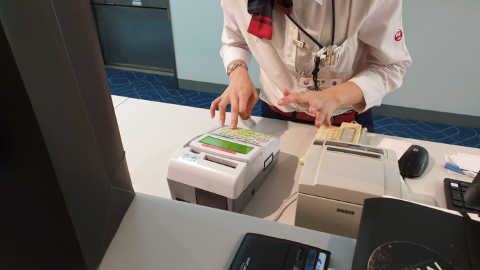 Japan Airlines Stand-by Counter Payment