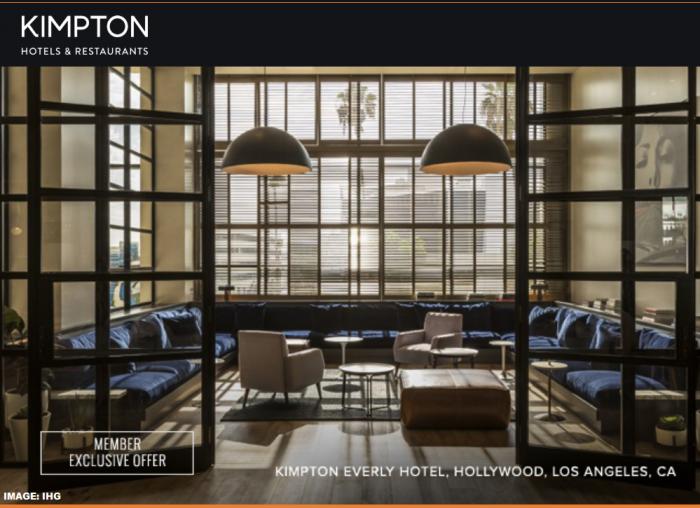 Kimpton California Sale