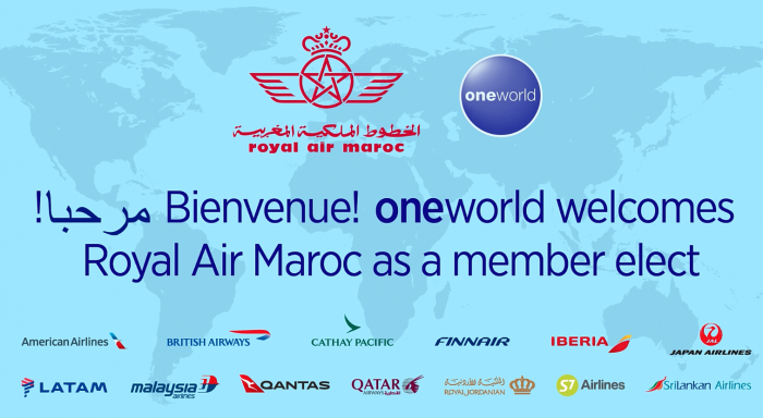 Oneworld Royal Air Maroc Logo