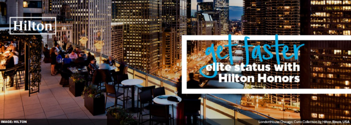 Hilton Honors Gold Fast Track
