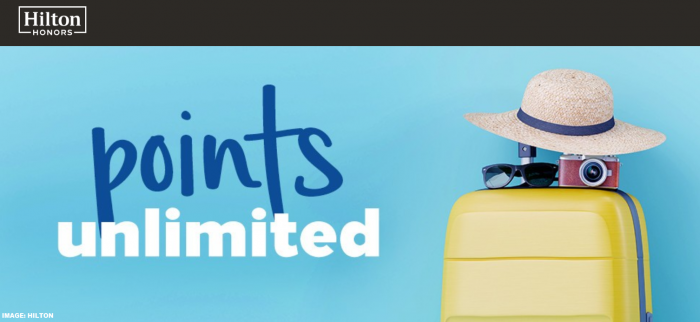 Hilton Honors Points Unlimited 2019