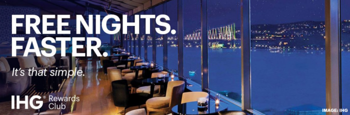 IHG Rewards Club Free Nights Faster 2019