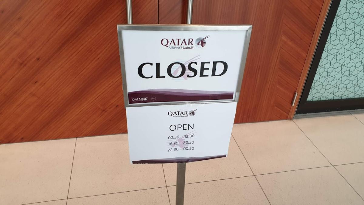 Qatar Airways Premium Lounge Bangkok Hours