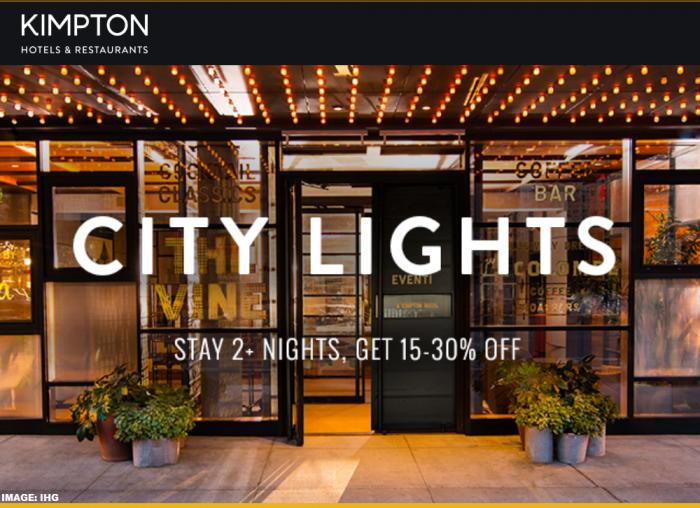 IHG Rewards Club Kimpton City Lights February 2019