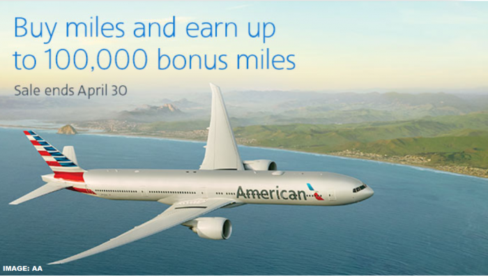 American Airlines AAdvantage Buy Miles Campaign March 2019