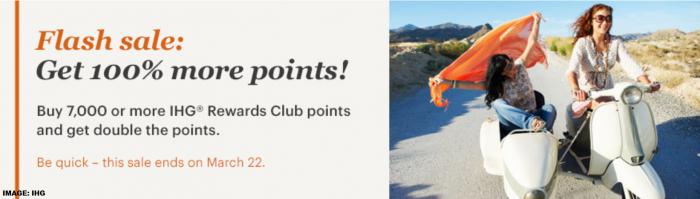 IHG Rewards Club Buy Points Flash Sale March 2019