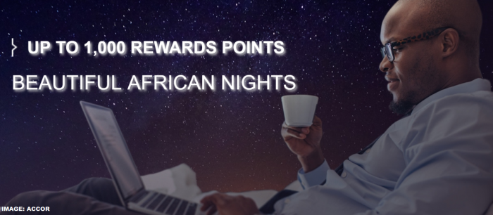 Le Club AccorHotels Africa 1.000 Bonus Points