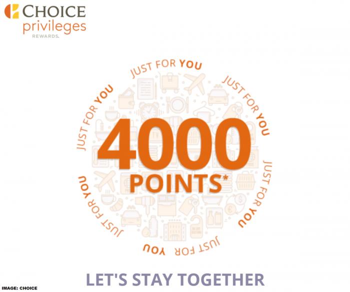 Choice Privileges Bonus Points April 2019