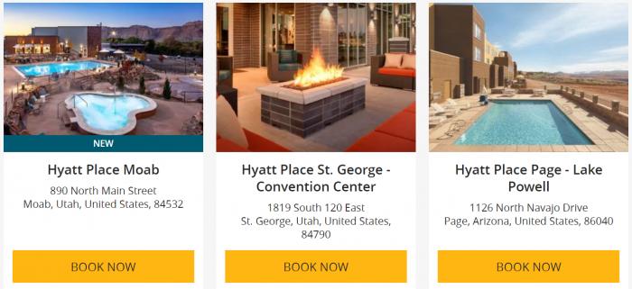 Hyatt World Of Natural Parks Offer Hotels