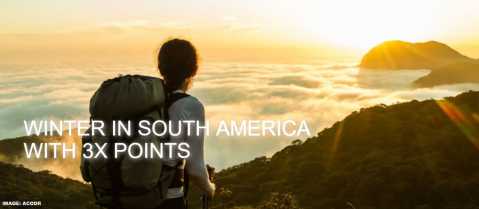 Le Club AccorHotels South America Triple Offer Winter 2019
