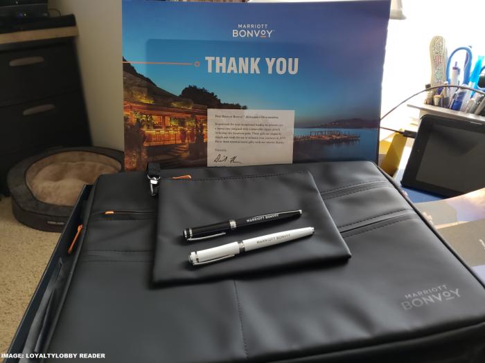 Marriott Bonvoy Ambassador Gift