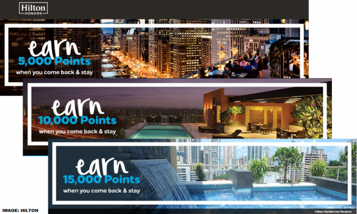 Hilton Honors Bonus Points Offers