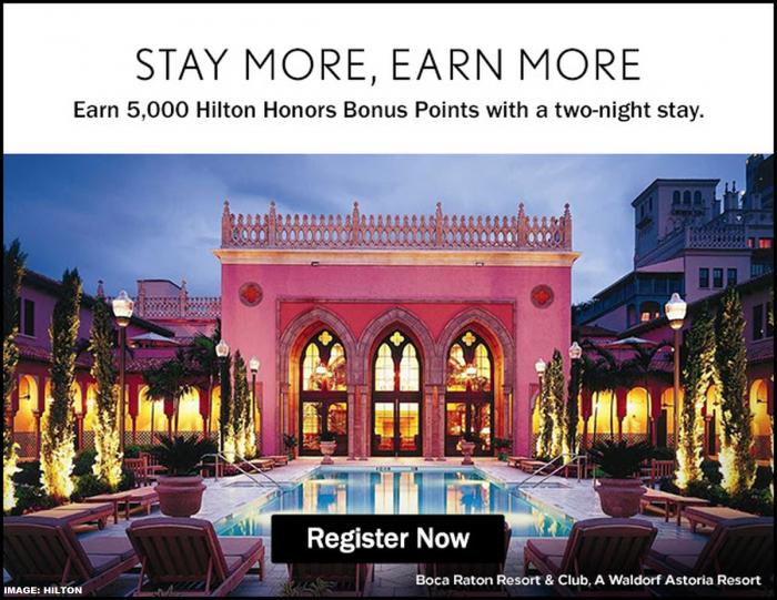 Hilton Honors Conrad & Waldorf Astoria Offer