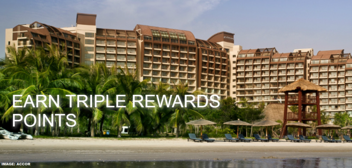 Le Club AccorHotels Greater China Bonus Offer Summer 2019