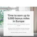 Marriott Bonvoy Lufthansa Miles&More Bonus Offer Summer 2019