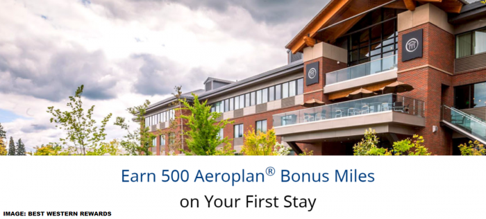 Best Western Rewards Air Canada Aeroplan Bonus Miles Offer 2019