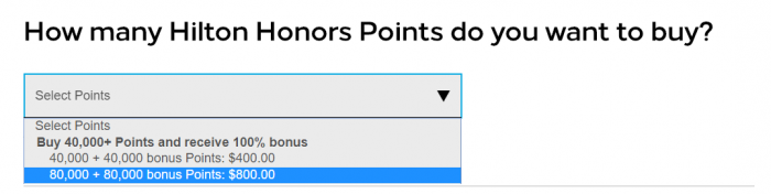 Hilton Honors Buy Points Flash Sale June 2019 Packages