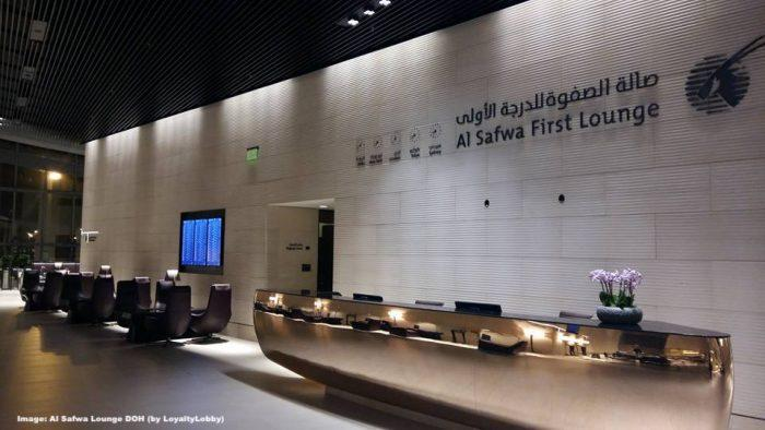 Qatar Airways Doubles Price For Al Safwa First Class Lounge Access (Upgrade  From Business Lounge): Now 600 QAR/US$165!   LoyaltyLobby