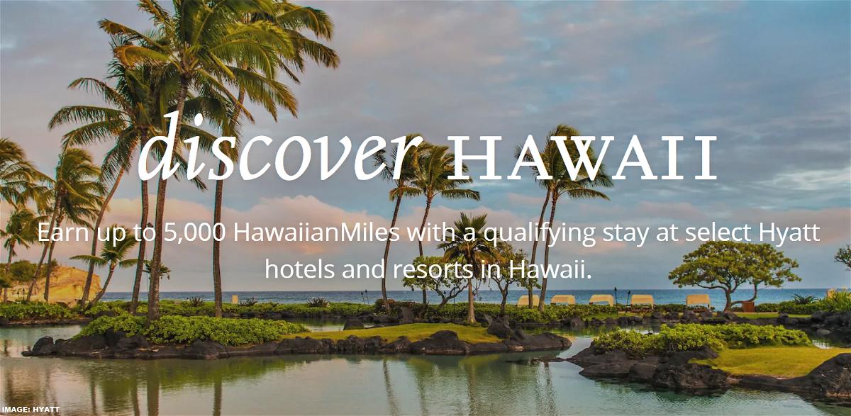 World of Hyatt Hawaiian Airlines Offer 2019