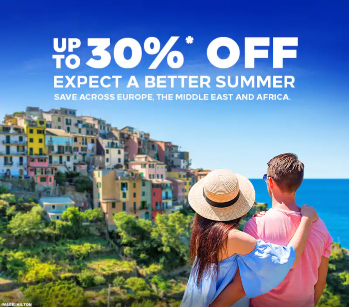 Hilton Summer Sale Update