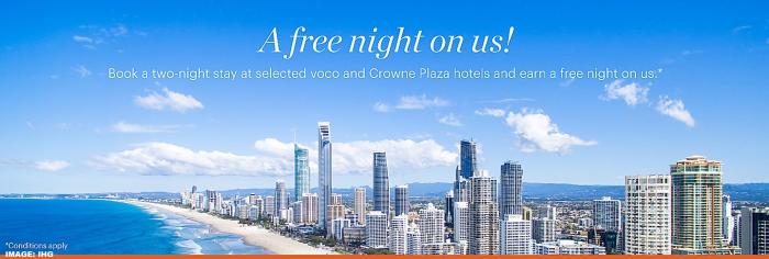IHG Rewards Club New Zealand & Australia Offer