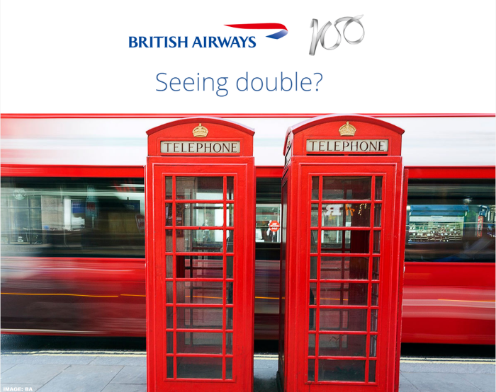 British Airways Executive Club Double Avios September 2019