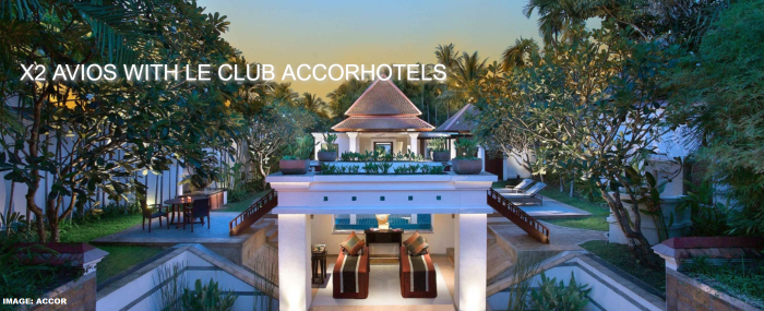 Le Club AccorHotels British Airways Double Avios Fall 2019