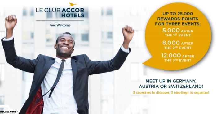 Le Club AccorHotels Event Bonus