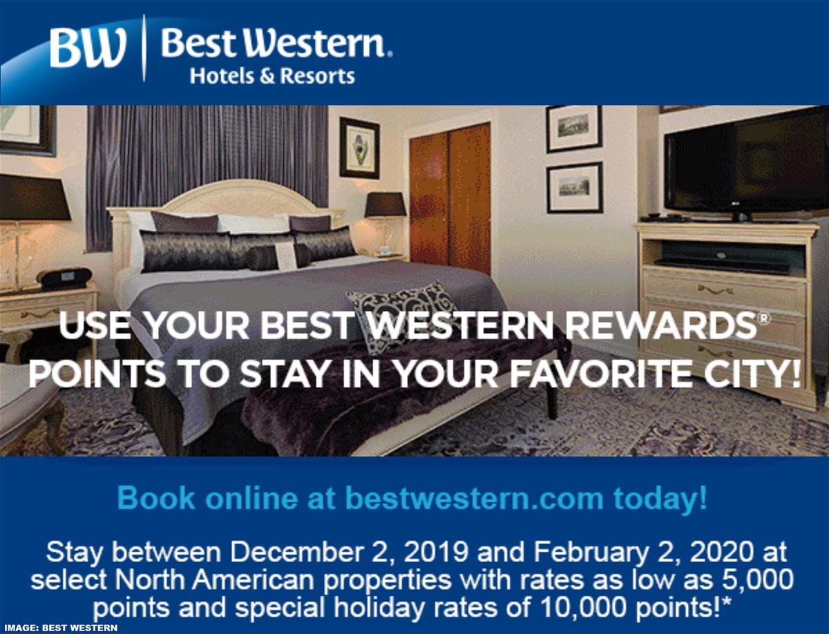 Best Western Award Discount Winter 2020