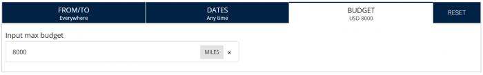 United Airlines MileagePlus Featured Awards Criteria