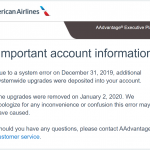American Airlines World of Hyatt Globalist