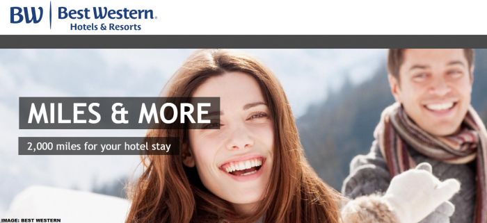 Best Western Rewards Lufthansa Miles&More 2020