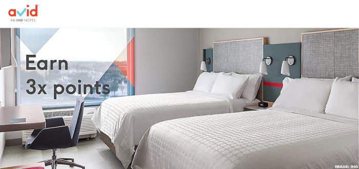 IHG Rewards Club Avid Hotels Triple Points 2020