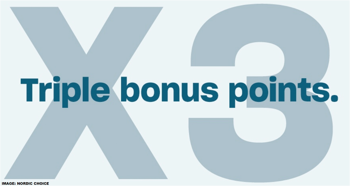 Nordic Choice Triple Points Summer 2020