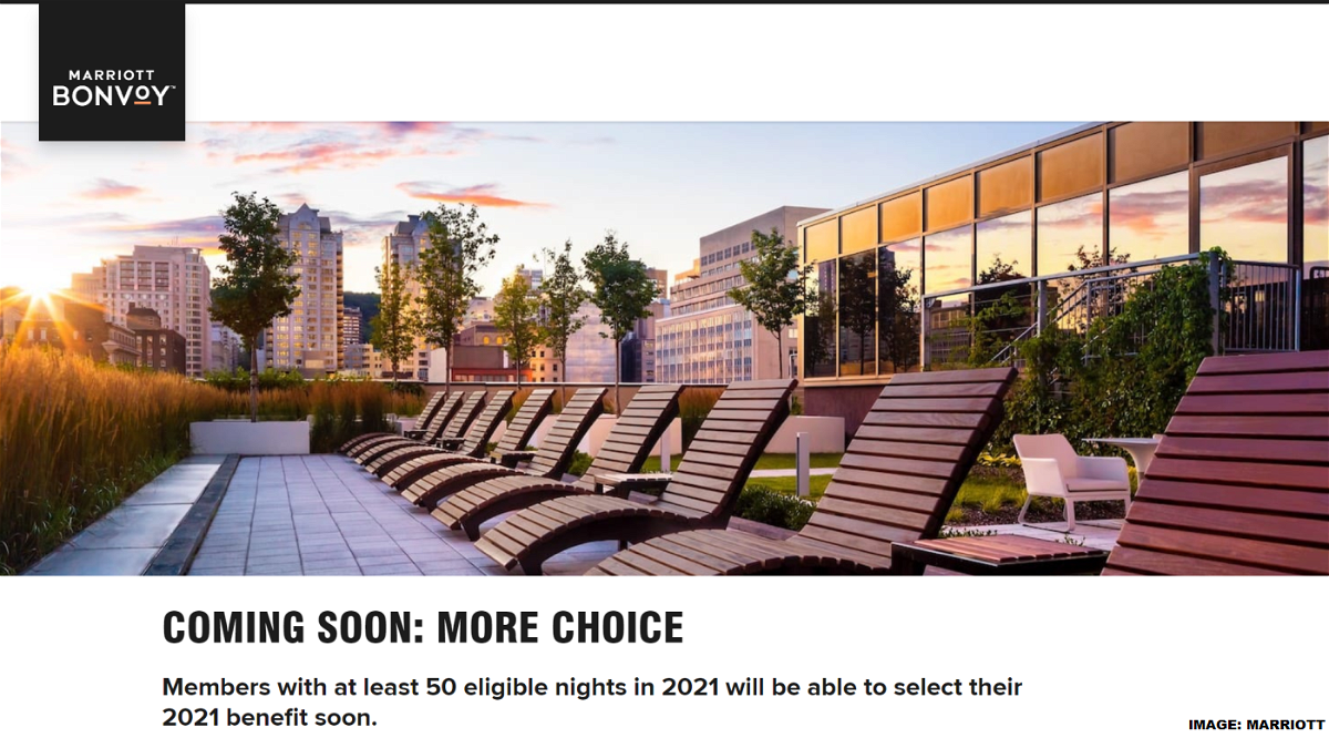 Marriott Bonvoy Annual Choice Benefit Options 2021 What To Choose When Loyaltylobby